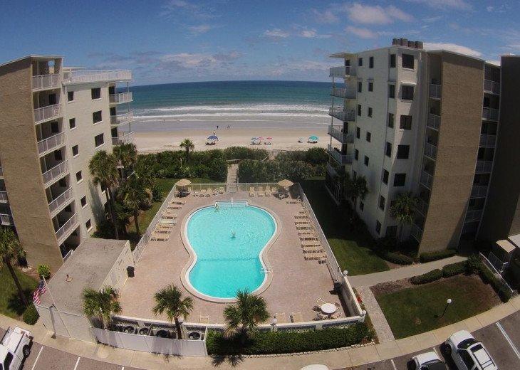 Chic Beach Gem, 6th Floor Oceanfront Corner Condo With a View, No-Drive Beach #5