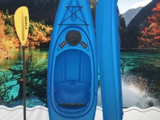 free kayak available for use