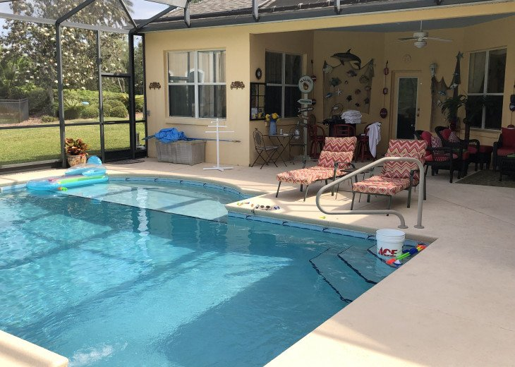 ON THE GOLF COURSE, HEATED SPA-LIKE POOL, ENCLOSED LANAI, CLOSE TO THEME PARKS! #34