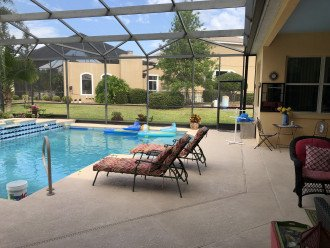 ON THE GOLF COURSE, HEATED SPA-LIKE POOL, ENCLOSED LANAI, CLOSE TO THEME PARKS! #1