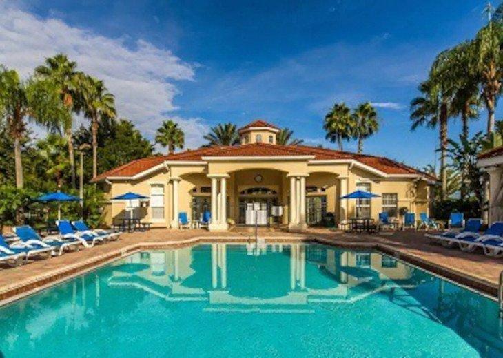 Mad Men Magic Kingdom House *Pool&Spa* 6mi to Disney*Dog and Family Friendly* #62