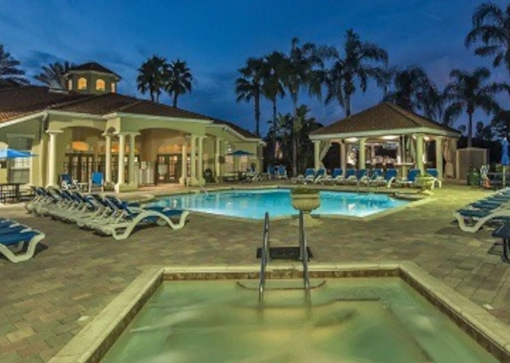 Mad Men Magic Kingdom House *Pool&Spa* 6mi to Disney*Dog and Family Friendly* #31