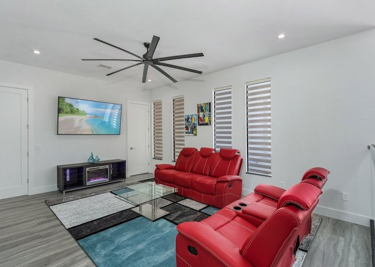 2 level living room