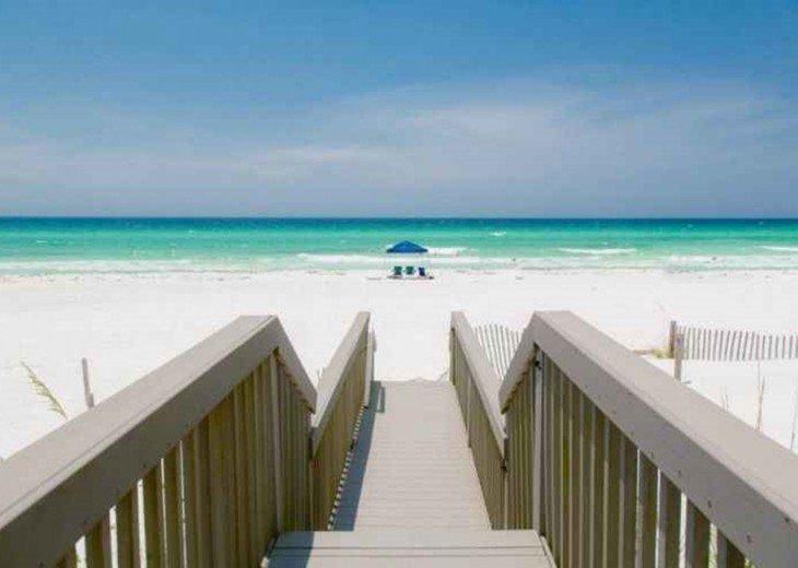 DESTIN 8 BED 6 BATH, PRIVATE BEACH, 3 OCEAN FRONT DECKS, SLEEP UP TO 26 #46