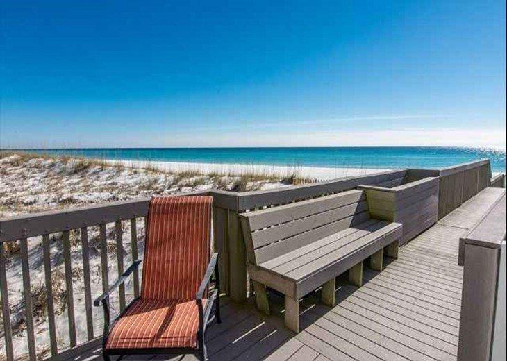 DESTIN 8 BED 6 BATH, PRIVATE BEACH, 3 OCEAN FRONT DECKS, SLEEP UP TO 26 #47