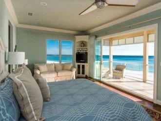 Million Dollar views from Master Bedroom with sleeper sofa