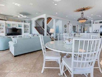 Second dinning table adjacent to kitchen & near living area for great gatherings