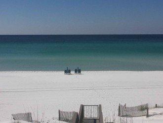 Boardwalk to private beach!