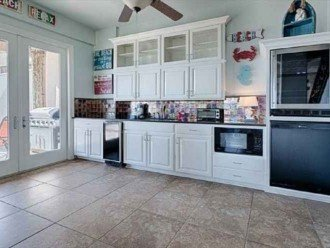 Kitchenette next to outdoor deck, ice maker, microwave, 2 small refrigerators!