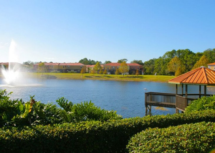 Newly Updated Lakeside Villa with Own Pool near Disney #24