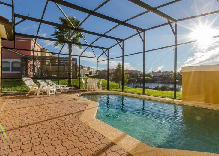 Newly Updated Lakeside Villa with Own Pool near Disney #5