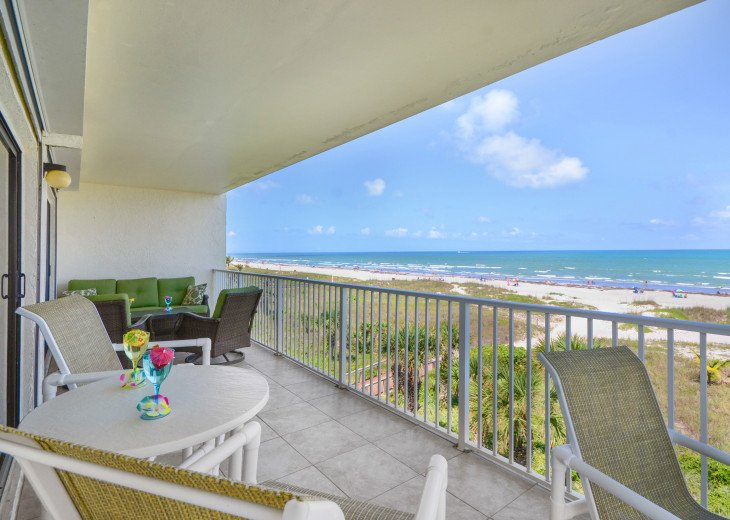 3 Bedroom 2 Bath Direct Ocean Front With A 44 Foot Wrap-Around Balcony #37
