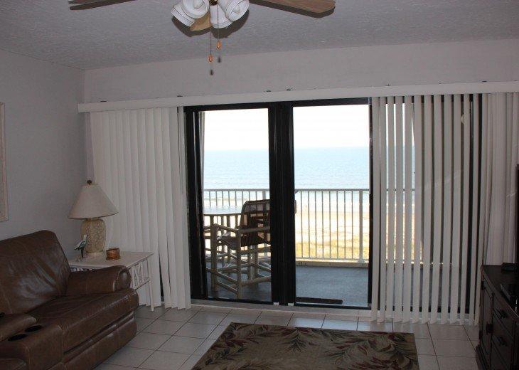 A little bit of heaven in top floor ocean front 2 BR 2 Ba Sandcastles 706 #15