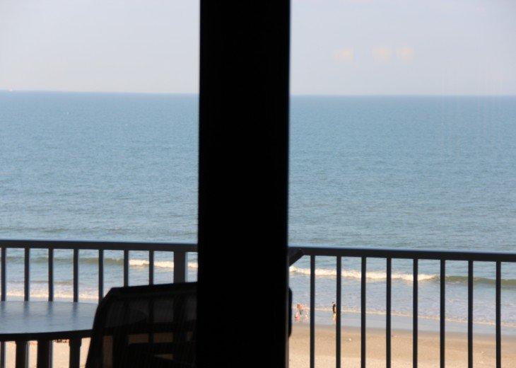 A little bit of heaven in top floor ocean front 2 BR 2 Ba Sandcastles 706 #34