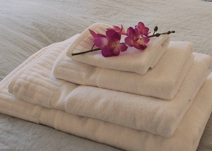 Lovely thick cotton towels