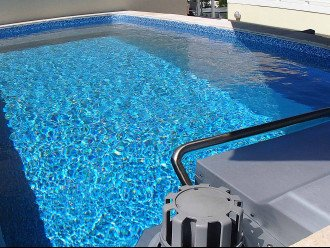 This is an Endless pool with a current to swim against or play in