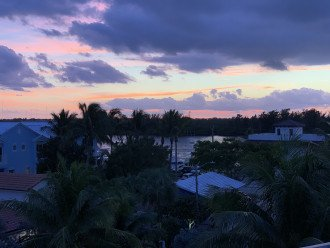 Enjoy sunrise over the ocean and sunset over the Intracoastal from the rooftop