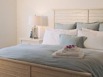 North Master Suite has it all -- large walk-in, lux ensuite and 60-inch TV
