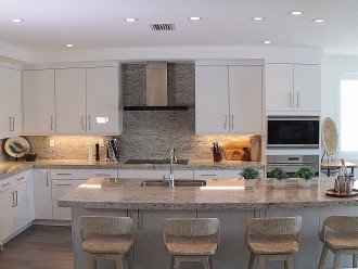 Kitchen is fully equipped with everything you could need!