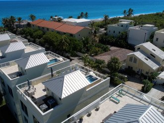 Just a few houses back from the gorgeous beach - walk for miles or just relax
