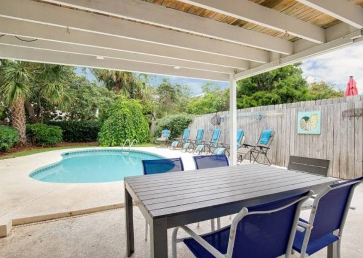 LOCATION LOCATION LOCATION Luxyry Beach House with VERY private pool #4