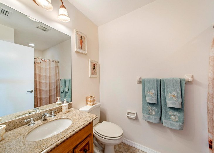 Main Floor Master Ensuite is a 4-piece Bathroom including a Roman Tub!