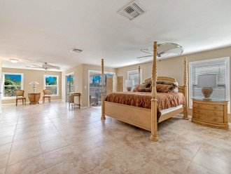Beautifully appointed Master Suite with Ensuite, Kitchenette, & Enclosed Lanai!
