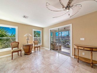 Second Floor Lanai features fabulous views of the canals!