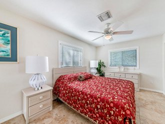 Big, bright, & beautiful Main Floor Master Bedroom with comfy Queen-size Bed!