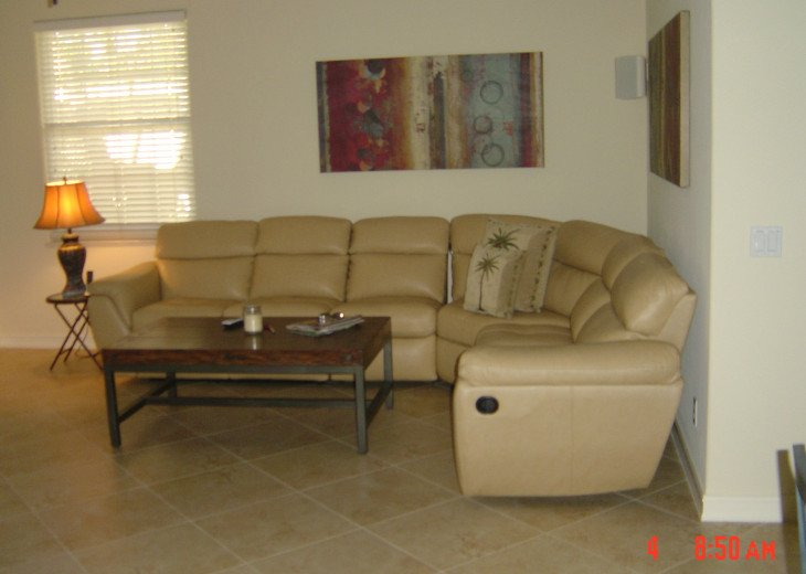 Comfortably Appointed Livingroom - Naples Vacation Rental