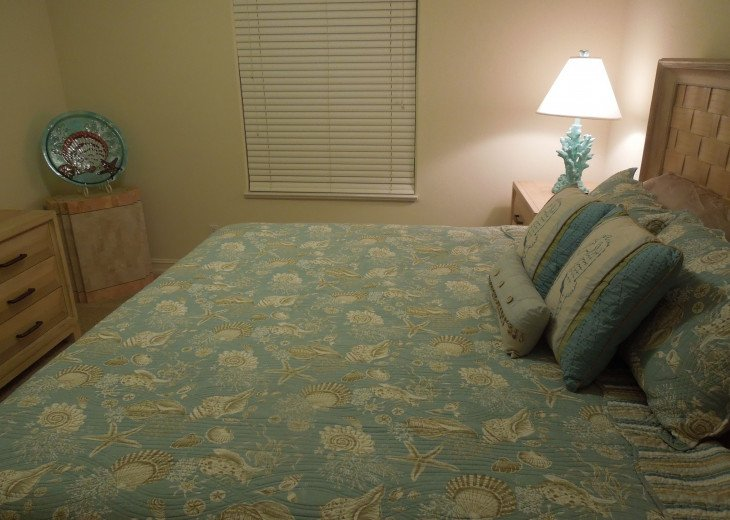 Comfortable and Welcoming Second Bedroom - Naples Vacation Rental