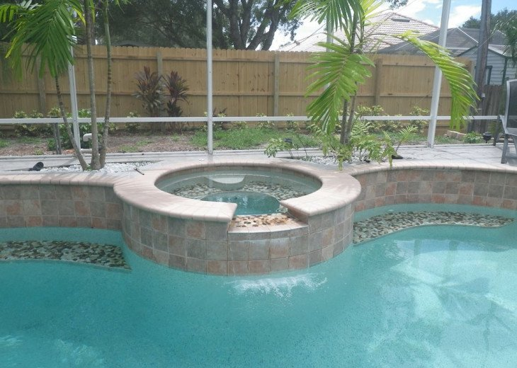Relax in the Backyard Spa - Naples Vacation Rental