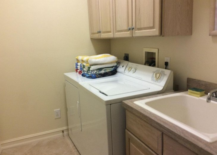 Laundry Room - Naples Vacation Rental