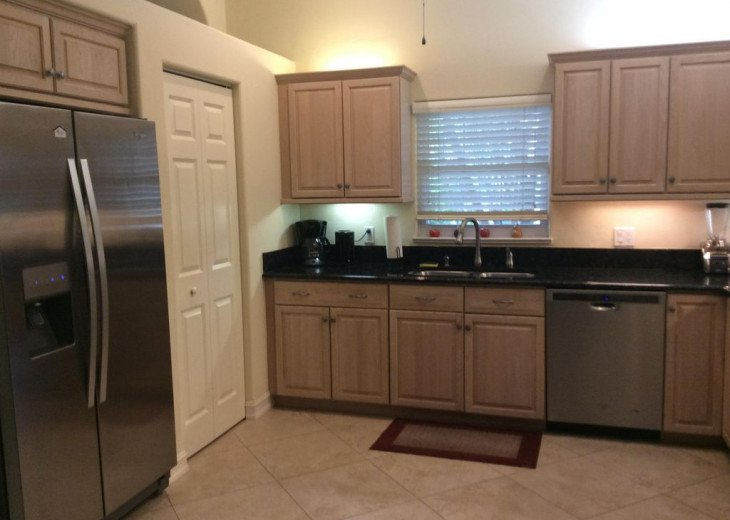 Well-appointed open-concept Kitchen - Naples Vacation Rental