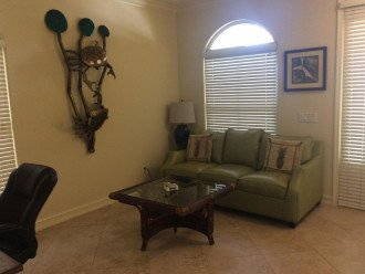 Den with Pullout Sofa Bed - Naples Vacation Rental