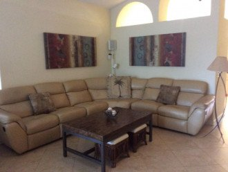 Lots of Seating for the Whole Family - Naples Vacation Rental