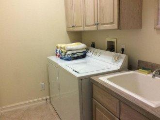 Laundry Room - Naples Vacation Rental