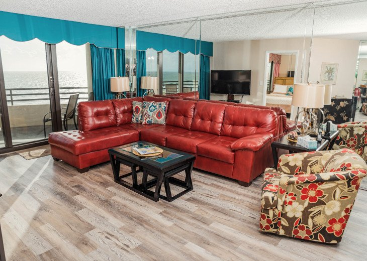 Oceanfront Sand Dollar CONDO 2/2 - Awesome views-Free WiFi - Beachfront Pool. #10