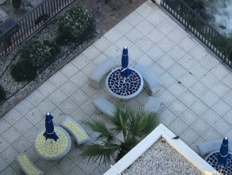 PATIO ON THE POOL DECK