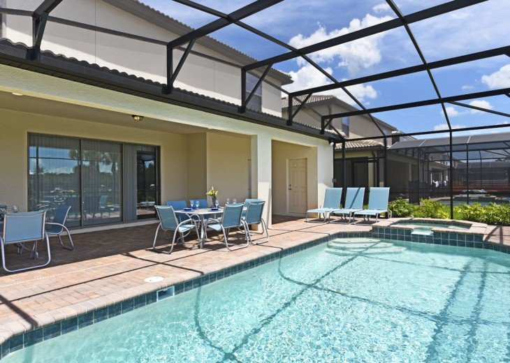 WOW! 8 bd 6 bth stunning pool home 10 mins to Disney - starts $200 nt - WW2167 #25