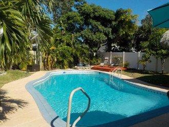 Tropical Private Pool Home with a Backyard Tiki Oasis #1