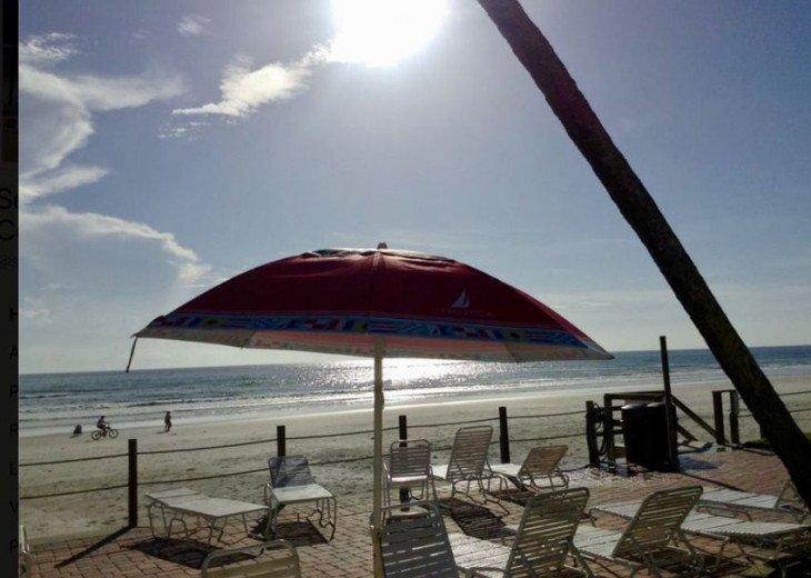 Pristine Direct OceanFront * 1st Floor Walkout *2/2 *W/D*No-Drive Beach,SeaCoast #32