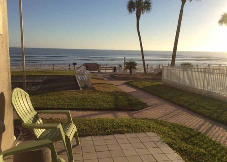 Pristine Direct OceanFront * 1st Floor Walkout *2/2 *W/D*No-Drive Beach,SeaCoast #3