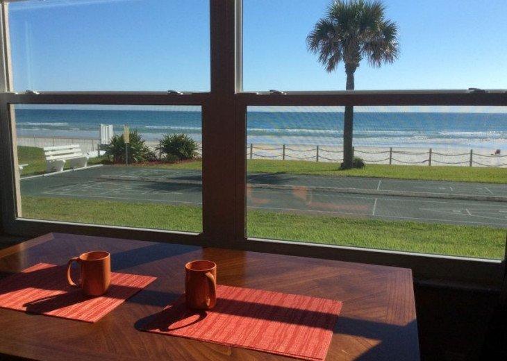Pristine Direct OceanFront * 1st Floor Walkout *2/2 *W/D*No-Drive Beach,SeaCoast #4