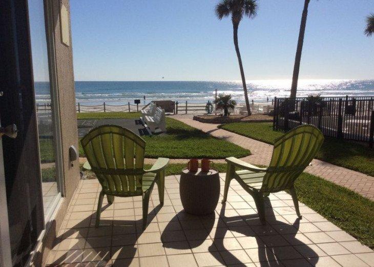 Pristine Direct OceanFront * 1st Floor Walkout *2/2 *W/D*No-Drive Beach,SeaCoast #1