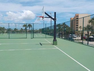 Basketball/Tennis Courts