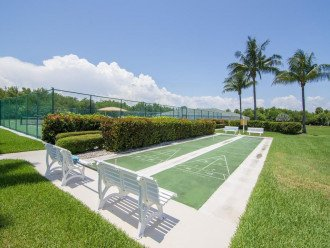 ShuffleBoard and Tennis Courts