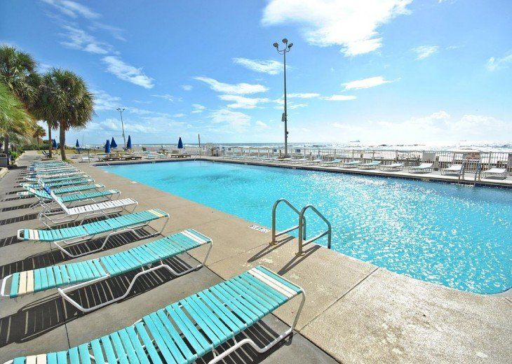 5th floor unit Direct Beach Front. Now booking for Fall!! #19