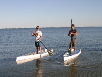 Enjoy the BEST of FL - on the water. Come Stand-up Paddling at Calema.com