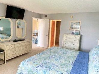Master Bedroom w Flat Screen